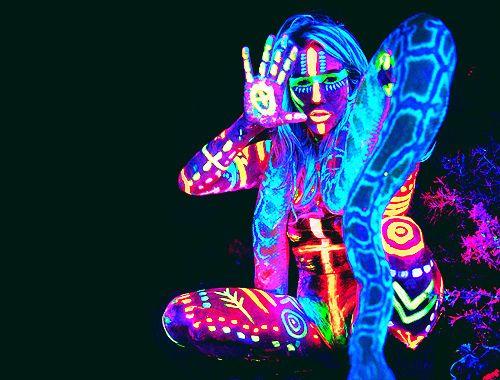 Tribal Body Paint