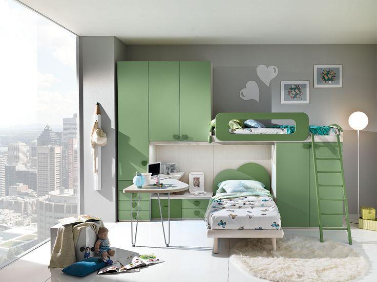 Mobili neonati ~ Camere per bambini progetto s m furlan mobili kids room