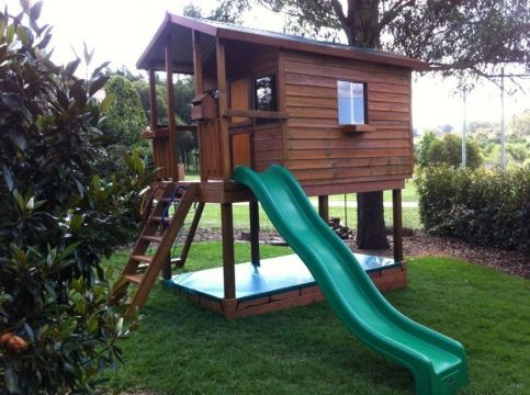 Cubby Houses - Mansion - Melbourne, Sydney, Brisbane Aarons Outdoors