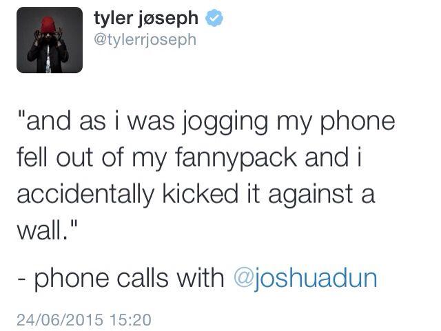 Tyler's Tweet