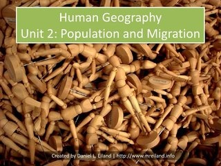 AP Human Geography Unit 2 Powerpoint