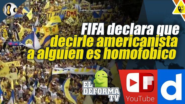 FIFA declara que decirle americanista a alguien es homofobico