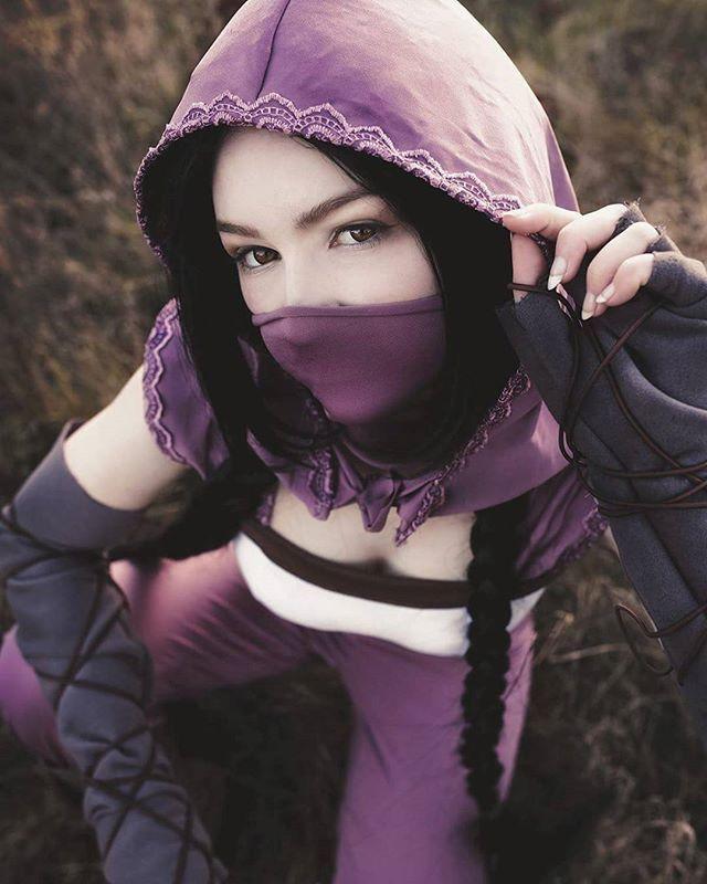😘 #shadowtactics #shadowtacticscosplay #aiko #aikocosplay #cosplay #ninja #techland #game #gamecosplay  #boobs xD