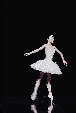 Svetlana Zakharova dancing Fokine's The Dying Swan