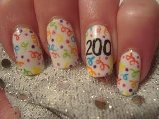 party: Years Nail, Holiday Nails, Nail Polish, Happy New Year, Nail Designs, New Years Eve, Nail Ideas, Nail Art
