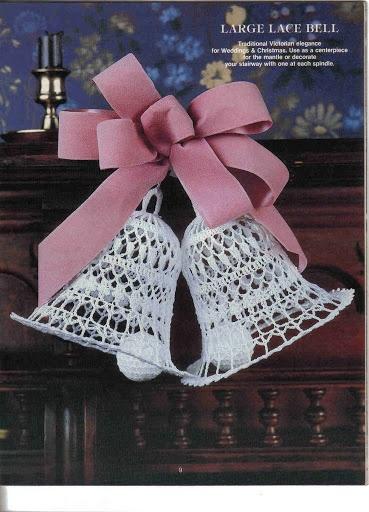 victorian crochet ornaments
