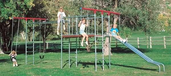 Swings, metal swing sets, kids swingset, playsets, outdoor play sets, monkey bars, playground equipment, swingset parts - Trampoline Sales Online