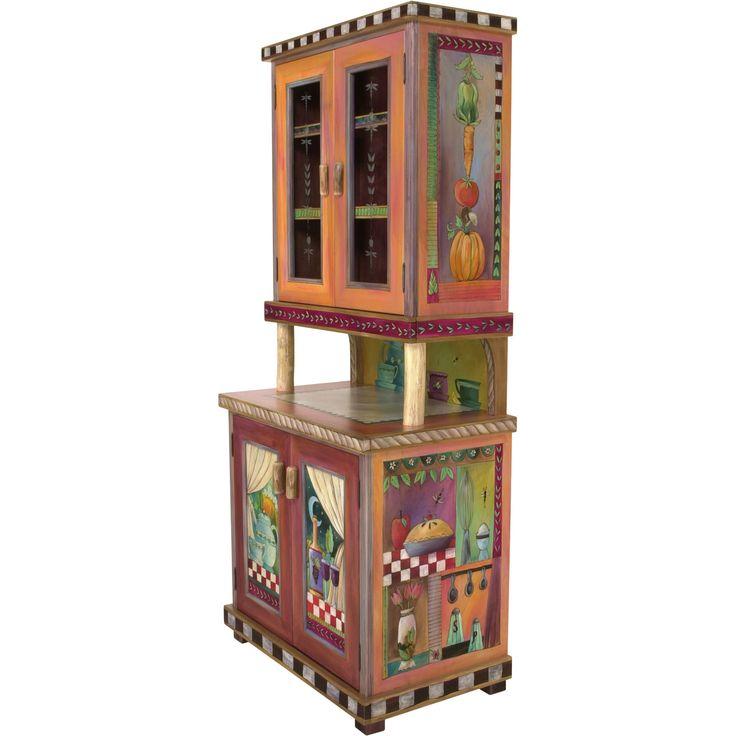 Sticks Cabinet, China Hutch CPD001-D11044, Artistic Artisan Designer Cabinets