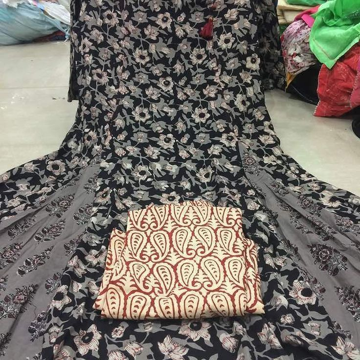 Pure Cotton designer indigo print Stitched shirt  Pure Cotton stiched plazo  Call 9768897928  Palazzo