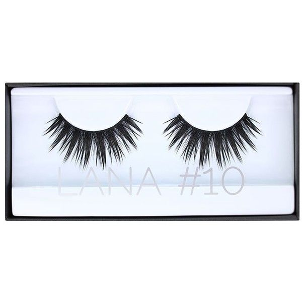 HUDA BEAUTY Classic Lash Lana ($23) ❤ liked on Polyvore featuring beauty products, makeup, eye makeup, false eyelashes and beauty