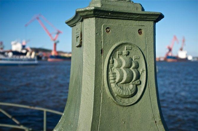 Göteborg - Gothenburg - Shipping out
