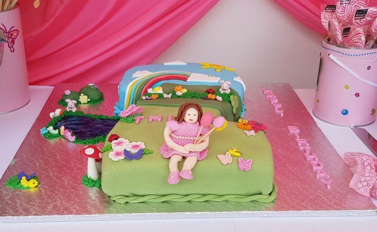 Thiya bday cake