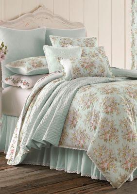 Piper & Wright  Haley Queen Comforter Set - Blue