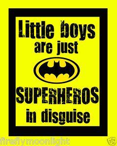 For my little superhero