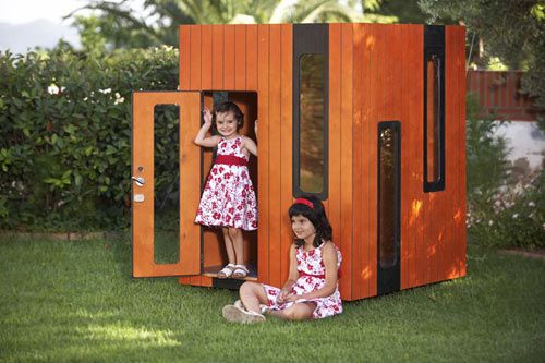 The coolest modern playhouses for kids ever!
