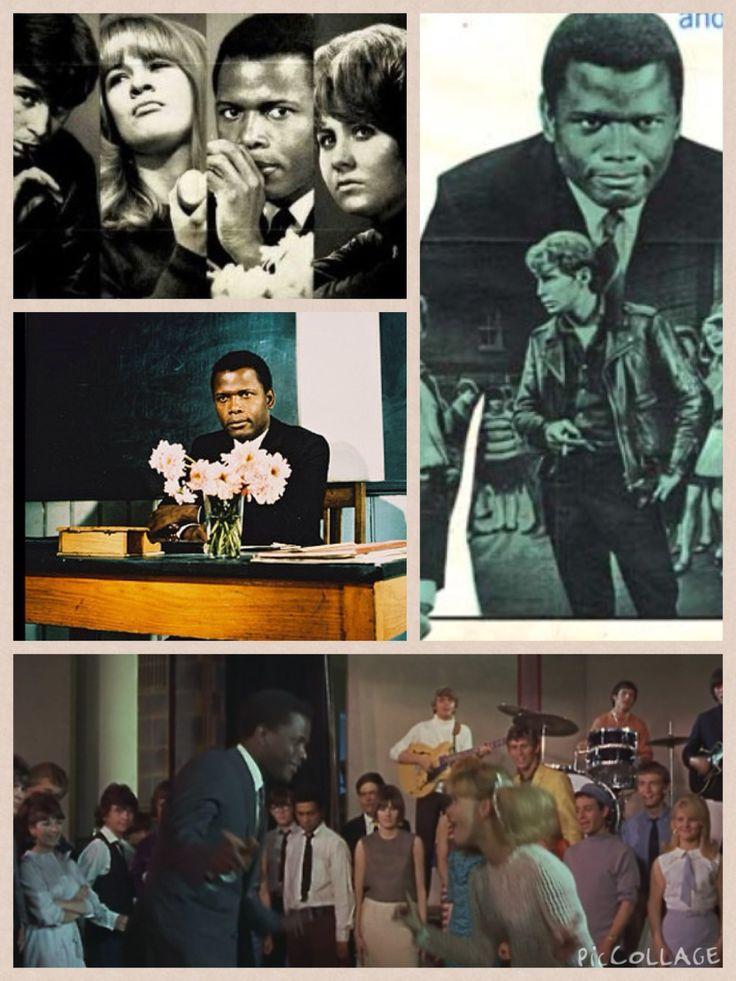 Al maestro con cariño 1967 Sidney Poitier, Lulu Película Film To Sir with love