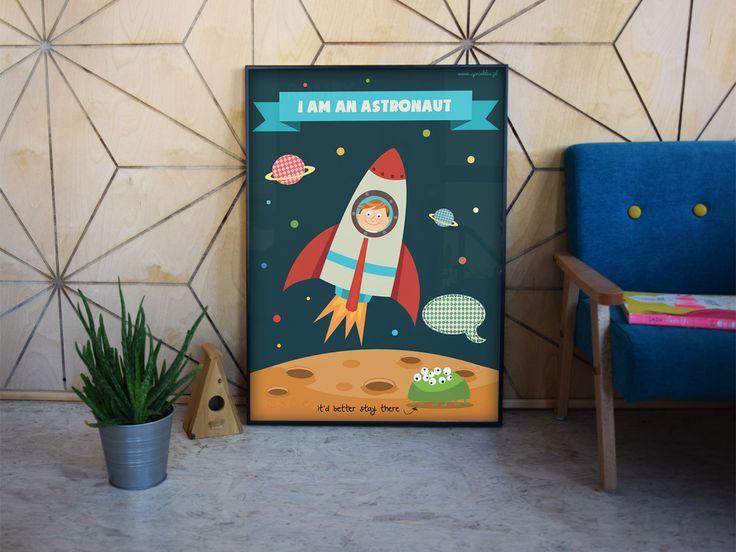 Kids wall decor, poster.