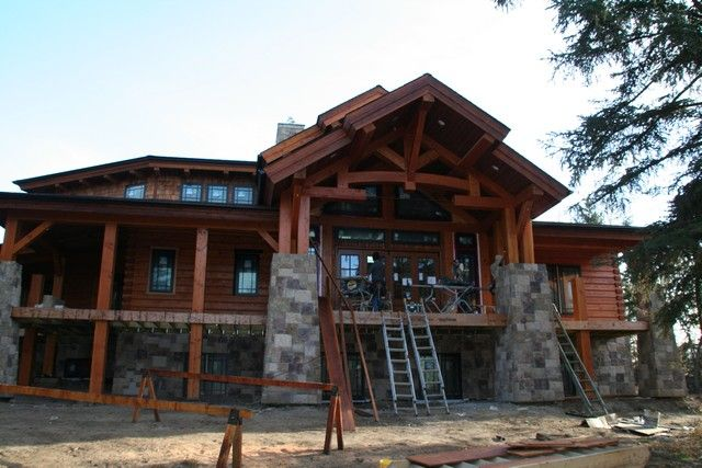 Rustic House Plans With Walkout Basement Log Home Floor