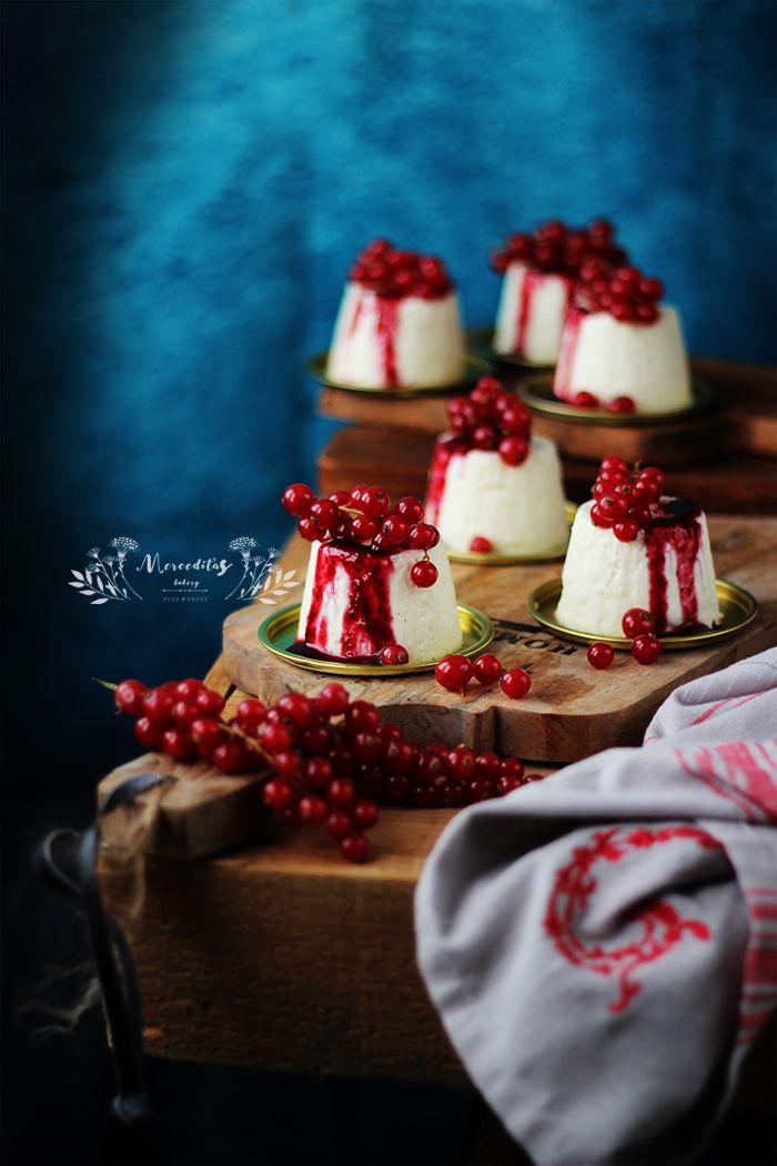 Merceditas Bakery: Auténtica panna cotta tradicional sin gelatinas