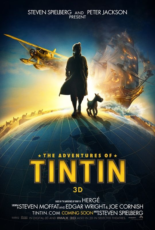 Tintin movie poster! It's gonna be epic :)