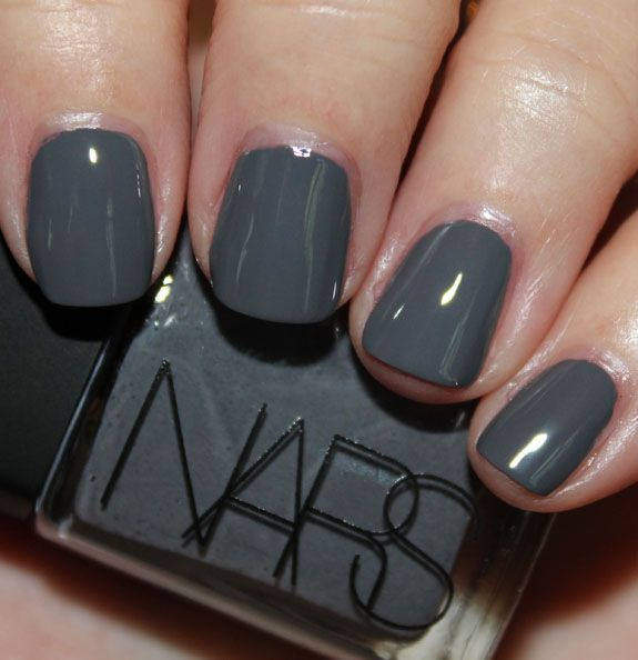 I need this!!--- NARS Storm Bird for Fall 2012: Fall Nails, Dark Smoky, Nails Colors, Fall 2012, Nars Storms, Gray Nails, Nails Polish, Birds Nails, Storms Birds