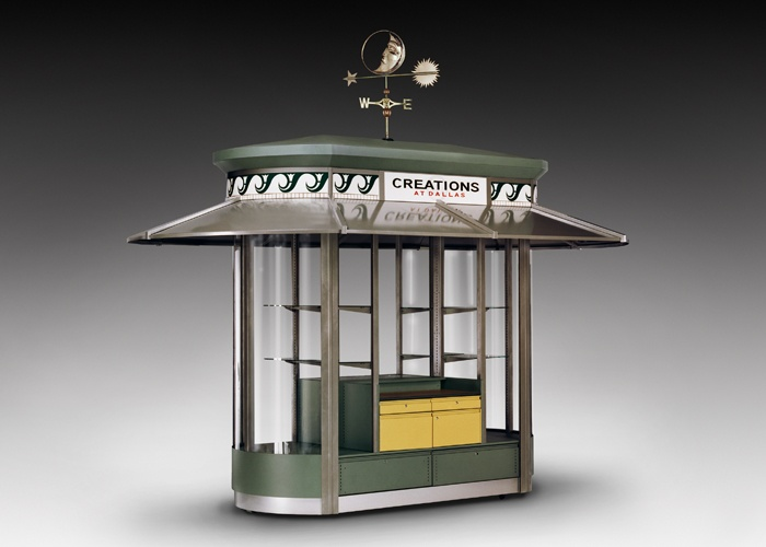 outdoor kiosk design shopworks inc designs pinterest