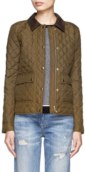 J.Crew Quilted Tack Jacket Small Olive Moss New $158 #JCrew #jcrewquiltedtackjacket#quiltedjacket