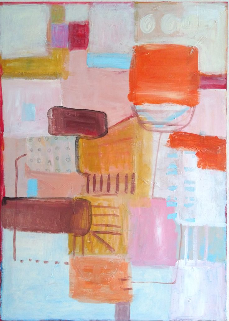 #kobus #abstract #painting #acrylic #painting #plan of a harbour