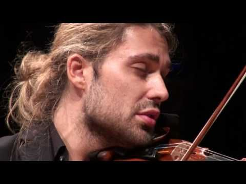 David Garrett (Mozart) I thought about how many people have loved Mozart music, and how many people got through a lot of bad times because of his music.. and how many people enjoyed good times with his music.. and how much that music really mean to all of us.. <3