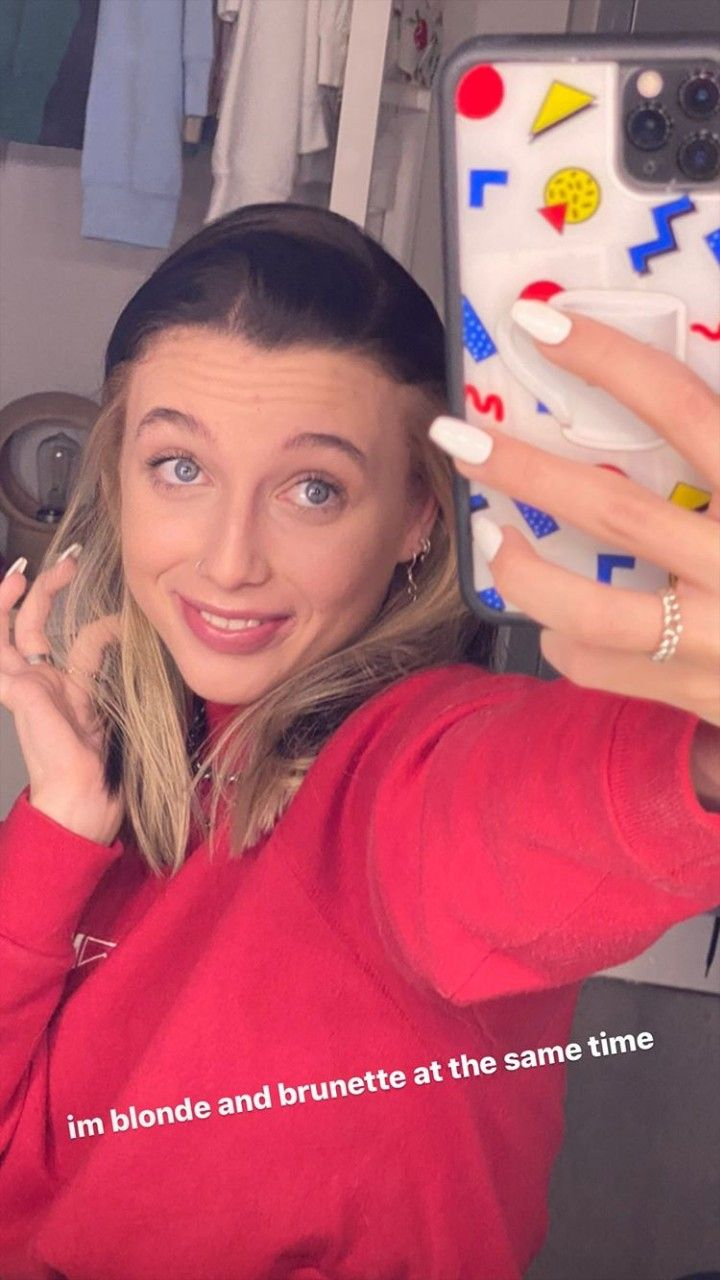 Pin By Noodles On Emma Chamberlain In 2020 Hair Dyed Underneath Hair Color Streaks Aesthetic Hair