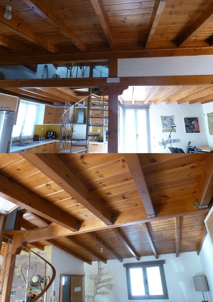 Ξύλινη οροφή
