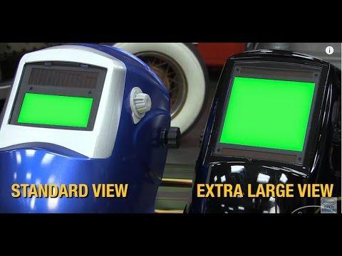 Extra Large View <b>Welding</b> Helmet - <b>Auto Darkening</b>, <b>Grind</b> Mode ...