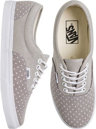 Polka-Dotted Shoes!!!   http://www.swell.com/New-Arrivals-Womens/VANS-LPE-CHAMBRAY-DOTS-SHOE?cs=GR