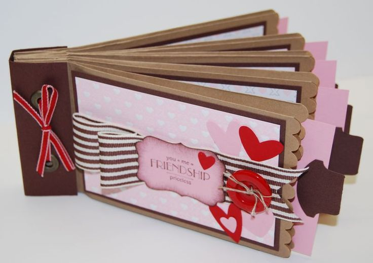 Valentine's Paper Bag Scrapbook