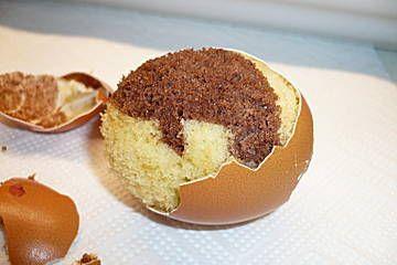 Niet alleen leuk met pasen cakejes in een eierdop