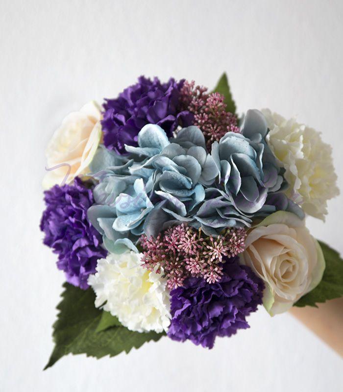 gelin buketi » Gelin Çiçeği Mor Gelincik | http://www.mevsimbahar.com/gelin-buketi