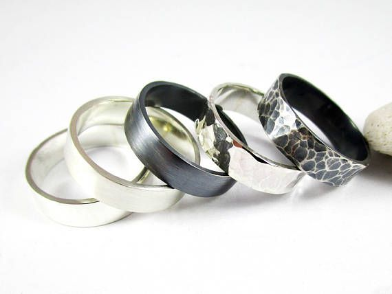 Sterling Silver Band 1 5mm .925 Sterling Silver Ring High