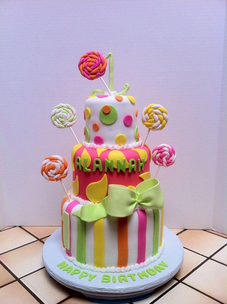 Candyland Themed Cake Fondant Designs Pinterest Themed Cakes Cakes And Candyland