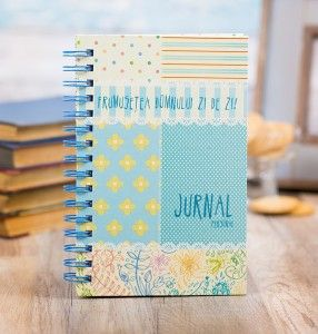 Colorful journal.