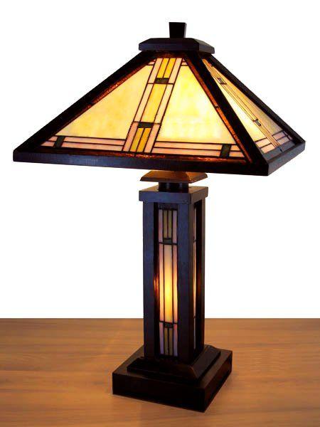 mission prairie table lamp 2