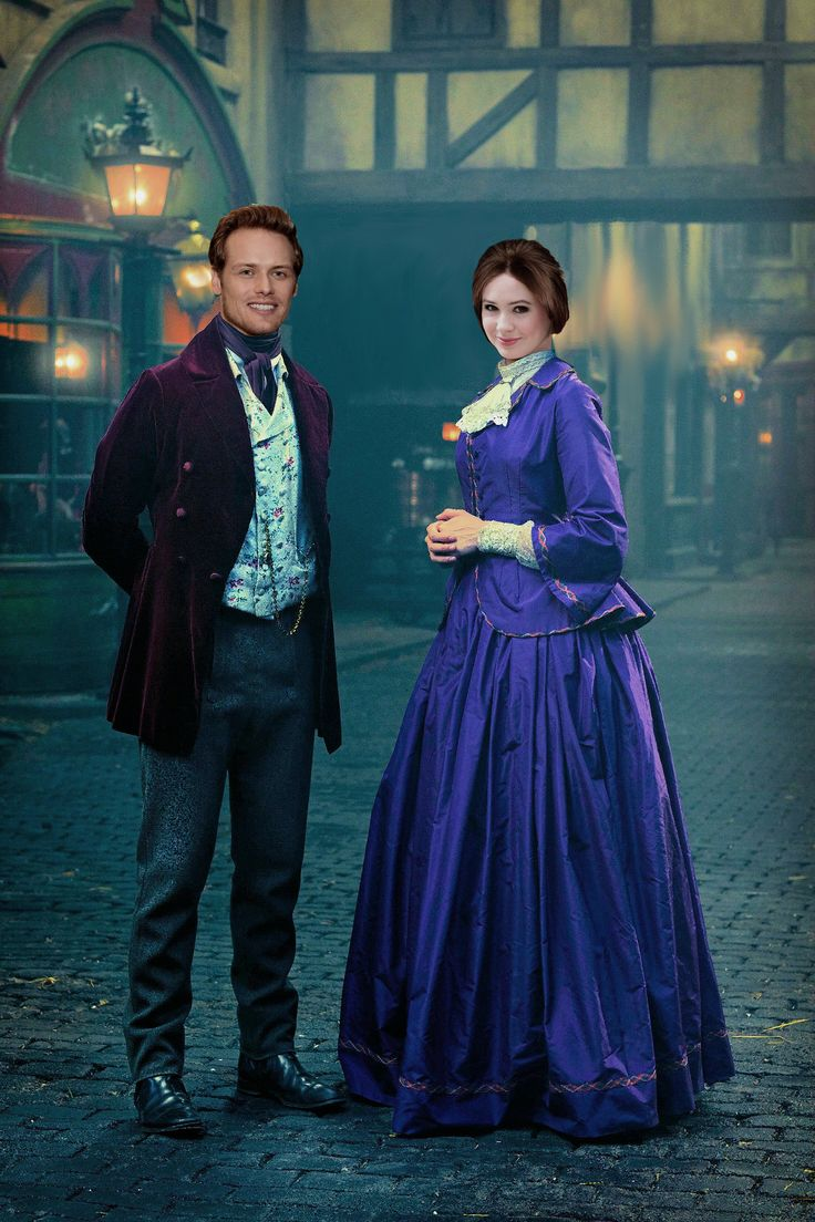 James Yates and Eleanor Ransome (Templates: Sam Heughan and Karen Gillan)