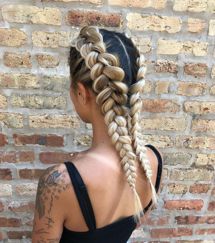 boxer braids for bey day 🚨  hairstyle by goldpl…