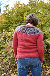 Please note that this pattern was originally published by Valley Yarns (WEBS) and was discontinued when the original yarn was no longer available. This updated version now has ribbed edges instead of folded hem edges and is now available in a wider range of sizes.