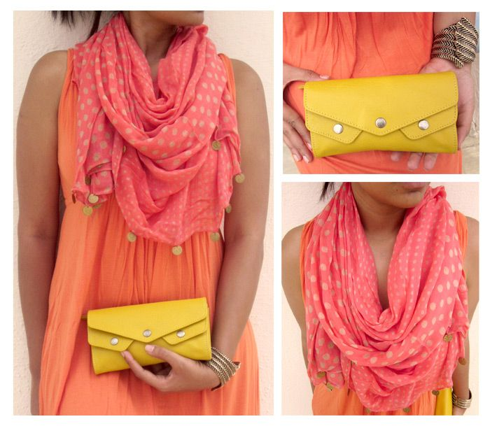 Cue citrus colors to keep things fresh and flirtatious.