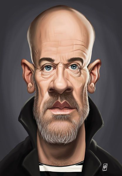 'Celebrity Sunday - Michael Stipe' by rob-art on artflakes.com as poster or art print $15.68 art   decor   wall art   inspiration   caricatures   home decor   idea   humor   gifts