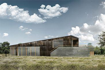 BAKS ARKITEKTER -  Copper House, Denmark. Nordic architecture, house, design, scandinavian, texture, copper, wood, minimalistic, danish, nature, living