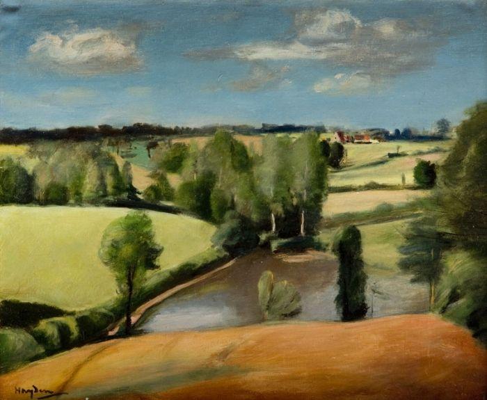 Henryk Hayden - Domek na wsi