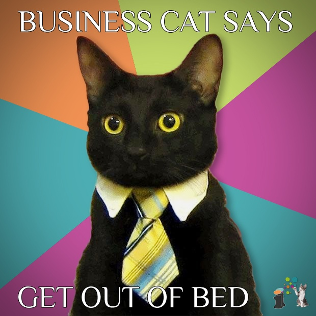 Get out of bed! Be proactive, and read our blog. http://www.inspiringinterns.com/blog/2012/03/calling-all-first-years-get-out-of-bed-guest-blog/