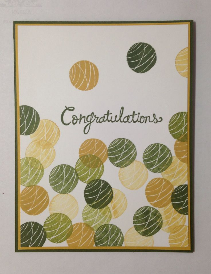 Congratulation Card for a Retirement. Using Stampin' Up ...