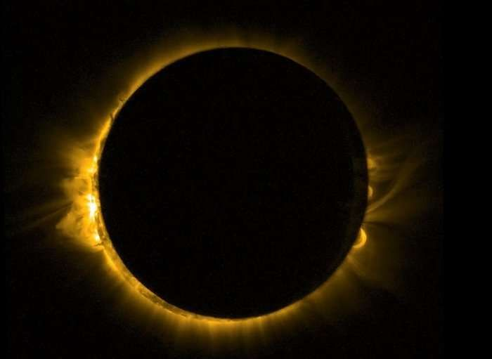 So erlebte die Schweiz die Sonnenfinsternis: «Der Mond hatte wie Berge» - Blick